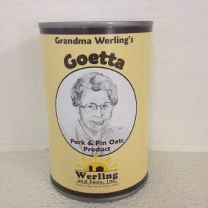 Canned goetta