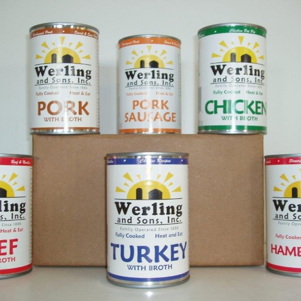 14.5oz Variety Canned Meat 6 Pack