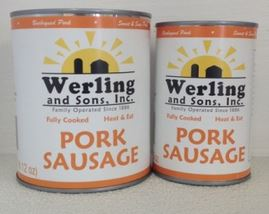 Werling and Sons Pork Sausage