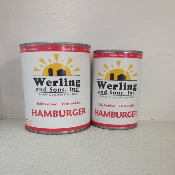 Canned Hamburger Meat